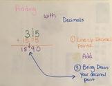 Adding with Decimals