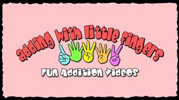 Adding with Little Fingers (Kindergarten Math Videos K.OA.A.1)