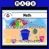 Double Digit Addition without and with Regrouping  Snorkel Sums
