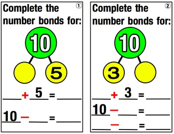 Adding with Number Bonds