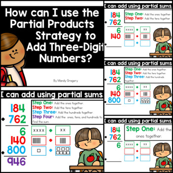 Adding with Partial Sums (Three-Digit Numbers)