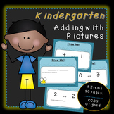 Adding with Pictures (Kindergarten)