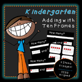 Adding with Ten Frames (Kindergarten)