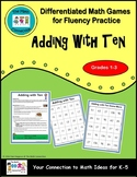 Adding with Ten Game