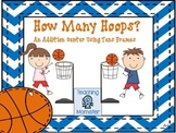Adding with Tens Frames Math Center--How Many Hoops?