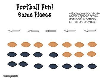 Adding with Tens Frames Math Center--Football Fun!