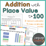 Adding with Tens and Ones- 1st Grade