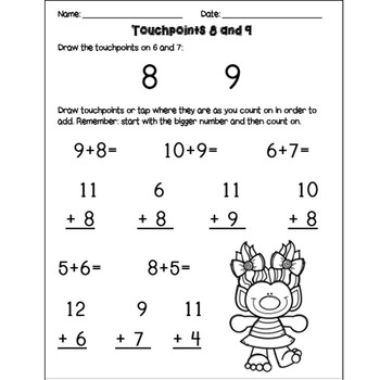 Adding with Touch Points 6-9