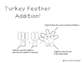 Adding with Turkey Feathers
