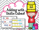 Adding with Linking Cubes! Addition Worksheets. Interlocking Counting Blocks