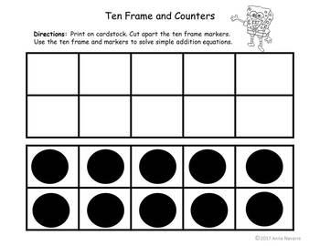 Adding with a Ten Frame