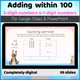 Adding within 100  2-digit number and 1-digit number Digit