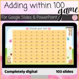 Adding within 100 Fun Virtual Digital Game Activity Google