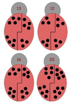Adding within 20 - Ladybugs