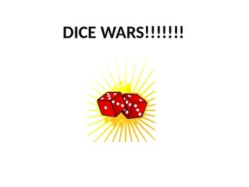 Adding(Subtracting, Multiplying, Dividing) Fractions Game:Dice Wars Instructions