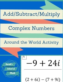 Add/Subtract/Multiply Complex (Imaginary) Numbers Around t