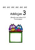 Addisjon 3 med tallene 0-20