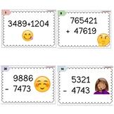 Addisjon og subtraksjon 4-6-sifret tall