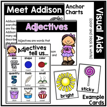 Adjectives: Addison Explains All About Adjectives