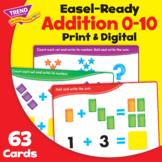 Addition 0-10 Activity Cards Practice | Print & Digital