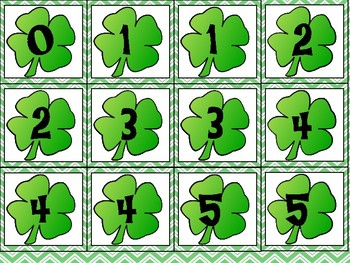 Addition 0-10 St. Patrick's Day Theme
