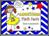 Addition 0-9 Timed Math Fact Drills w/ Progress Charts and Awards