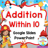Addition Within 10 Smartboard and PowerPoint