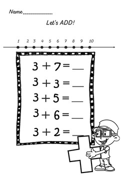 Addition 1-10 - Two strategies
