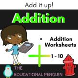 Addition 1-10 - Math Activity Pack