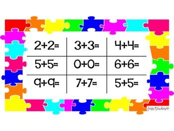 Addition 1-12 Tic-Tac-Toe