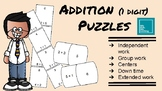 Addition (1 digit) Puzzles