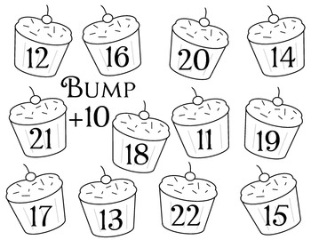 Addition 1 to 11 Bump Games