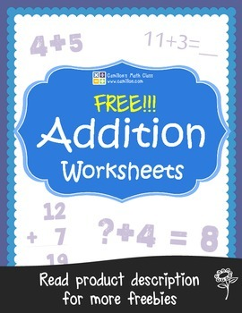 Free Addition Worksheets with Answer Keys