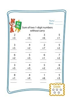 Addition Worksheets | Addition Practice | Addition Activities