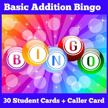 Addition Bingo | Addition Bingo to 20 | Addition Games