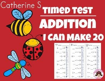 Addition Worksheets - Making 20