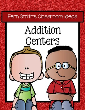Addition Math Centers Six Quick and Easy to Prep Addition Center Games Bundle