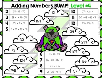 Adding Multi-Digit Numbers: 10 Differentiated Multi-Digit Addition Games