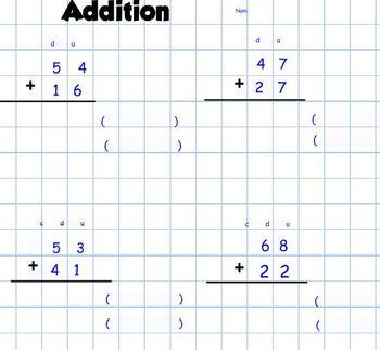 Addition 2-4 digits