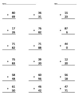 Addition (2 digits)