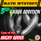 Addition Math Mystery: Double Digit &Triple Digit Addition