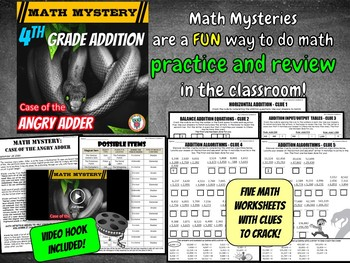 Addition Review Activity: Adding larger numbers