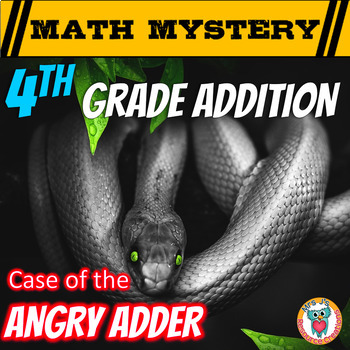 Addition Activity: Math Mystery -- Adding larger numbers