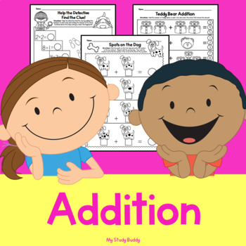 Addition (Kindergarten Math, Addition Worksheets)