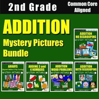 Addition Mystery Pictures Bundle