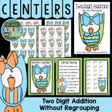 Addition of Two Digit Numbers Without Regrouping Center Game
