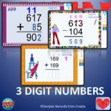 Addition 3 Digit With Regrouping Missing Number Boom Cards Bundle