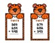Addition 3 Digits and 3 Addends - Tigers