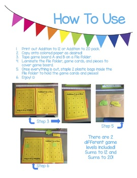 Addition 4-in-a-Row Buddy Game