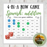 Addition 4-in-a-row game: Spanish